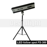 300W Manual led follow spot light
