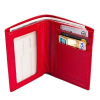 2016 classic style ladies RFID it wallets red with many card slots