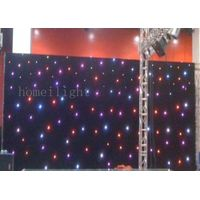 4*6m LED curtain display RGB twinkling star curtain star shinning curtain