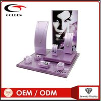 acrylic jewelry display stand jewelry shop interior design thumbnail image