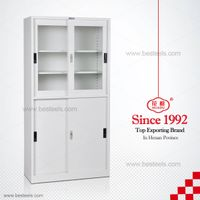 HDY-B04 Metal Steel Sliding Door Filing Cabinet