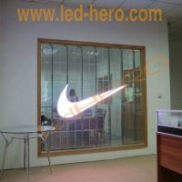 P10 transparent led screen  /Message Board led display video