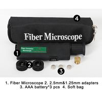 Fiber Inspection Microscope 200X&400X 2 In 1 thumbnail image