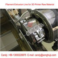ABS PLA 3d printing filament extrusion production line filament making line