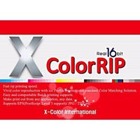 Xcolor RIP Software for Epson R1800 / P600 roll printing / digital printing / dye sublimation