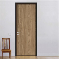 Modern Ecological Interior Door Flat open MDF Laminated Door Available in All Sizes