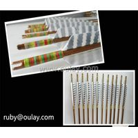 Complete self-nock bamboo arrows thumbnail image