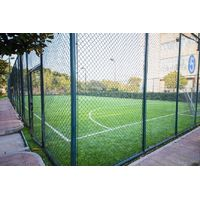 Fencing net for soccer field