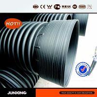 Large diameter drain pipe plastic pipe on sale