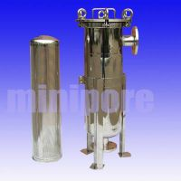Stainless Steel Industrial Bag Style Filter Housing thumbnail image