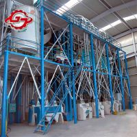 80T Maize Flour Processing Machine