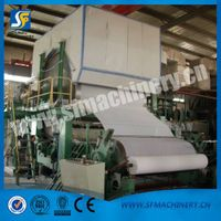 Paper making plant machinery for toilet roll making machine on sale