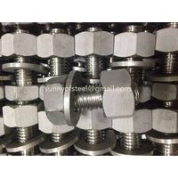 2.4633 inconel 602 UNS N06602 fasteners stud bolt nut washer gasket screw hardwares thumbnail image
