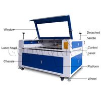 GW-1610 split laser engraving cutting machine, image photo laser engraving machine thumbnail image