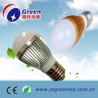 2013 E27 base 3W LED bulb light Cool/ Warm white,Commercial, Engineering, Indoor lighting