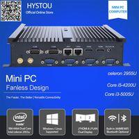 6*rs232 com ports industrial mini pc Intel celeron 2955u dual lan dual HDMI fanless desktop computer thumbnail image