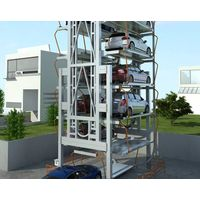 Multi levels automated rotary car parknig equipment parking system