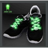 JADE LIGHT UP SHOELACES FOR NIGHT RUNS
