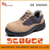 suede leather steel toe safety shoe man RH123