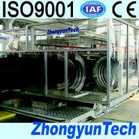 corrugated pipe making machine thumbnail image