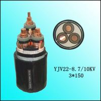 Construction used copper conductor xlpe power cable