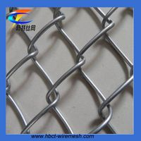 Hot dip galvanized wire mesh chain link fence thumbnail image
