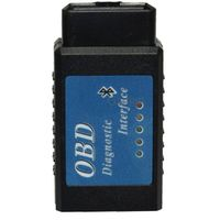 Factory Wholesale 2015 Newest Mini Auto ELM327 Bluetooth V2.1 ODB2 ODBII Car Diagnostic Scanner Tool