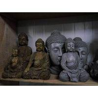 Poly resin buddha