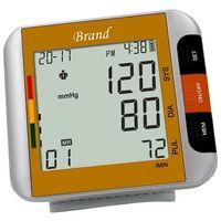 Touch Digital Wrist Blood Pressure Monitor Heart Beat Rate Meter Measure Machine thumbnail image