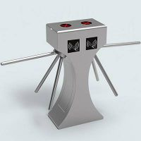 Full auto intellgent double core tripod turnstile barrier gate
