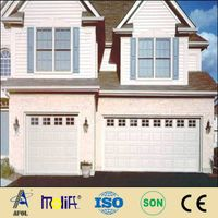 finger protect sectional panel garage door
