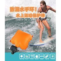 Hot Selling Swimming Inflatable Lifesaving Wrist Strap Anti Drowning Wristband