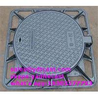 cast iron manhole cover dia 600 mm C250 D400 in way