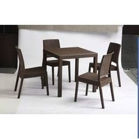 Keter's type woven tattan pattern , PP chairs, suitable for dining, outdoors funiture sets , living