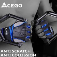 2018 factory short finger gym fitness gloves