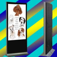 2015 Latest floor-standing 55 inch advertising display with 3G/wifi
