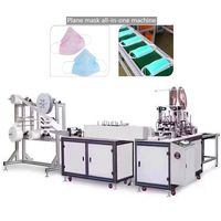 Quick Delivery Factory Direct Automatic Plane Mask Chipping One Drag Two Plane Mask Machine