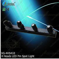 New product white quad beam led mini moving head dance nightclub effect lighting chinese factory