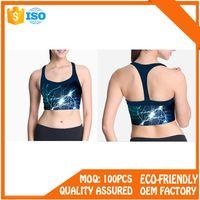 women comfortable seamless fitness sports bra