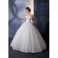 10.luxurious romantic wedding gown wedding dress