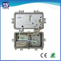 Easy installed all in one solution node for cable operators