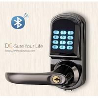 Architectural Hardware Bluetooth Door Locks Lever Handle Smart Electronic Digital Door Lock APP Lock thumbnail image
