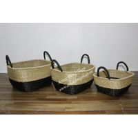 Seagrass basket for home decoration and furniture - BH3273A-3MC