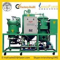 Multi-functional waste oil recycling machine