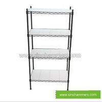 metal display wire shelving book shelf thumbnail image