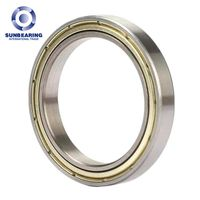 6911 ZZ Deep Groove Ball Bearing 558013mm SUNBEARING