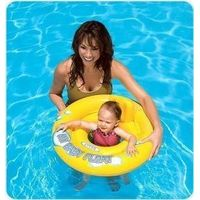 Inflatable animal baby sit ring