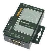 1-port RS-232 to 10/100Base-T(X) Device Server(VDS101)