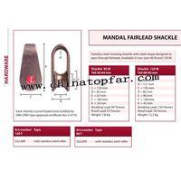 Marine Mooring Mandal fairlead shackle thumbnail image