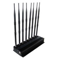 DCS PCS 3G 4G Adjustable High Power Cell phone Wifi Jammer ( 4G LTE + 4G Wimax)